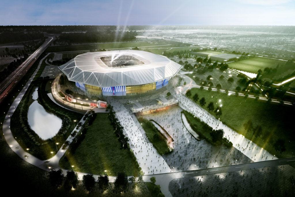 Zoom sur le Stade des Lumières